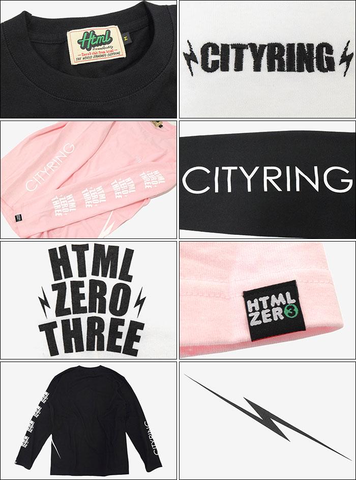 HTML ZERO3エイチティエムエル ゼロスリーのTシャツ Blink Crest10
