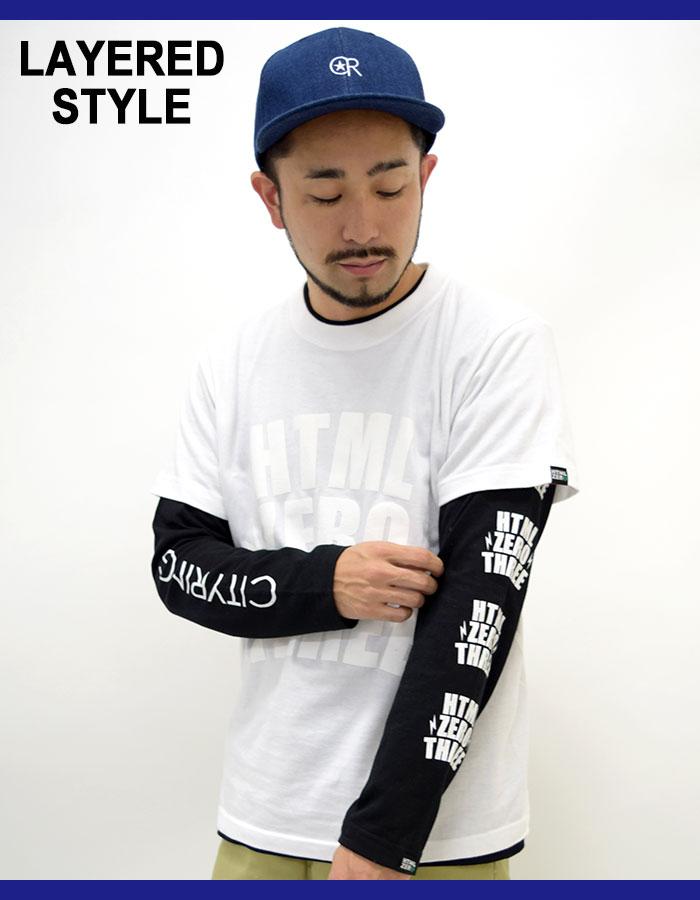 HTML ZERO3エイチティエムエル ゼロスリーのTシャツ Blink Crest06