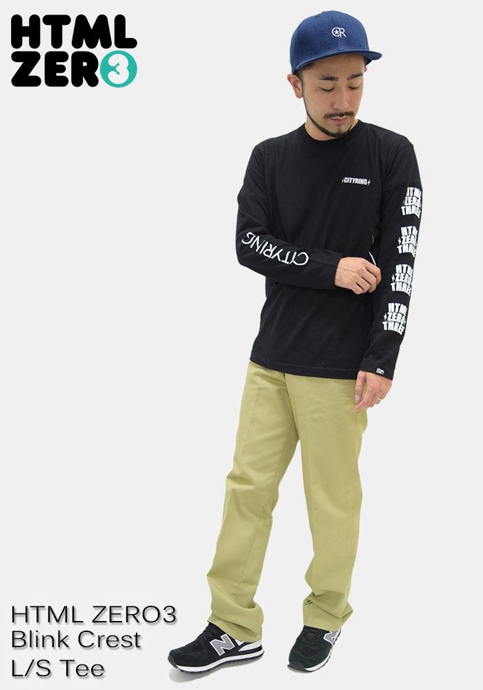 HTML ZERO3エイチティエムエル ゼロスリーのTシャツ Blink Crest08