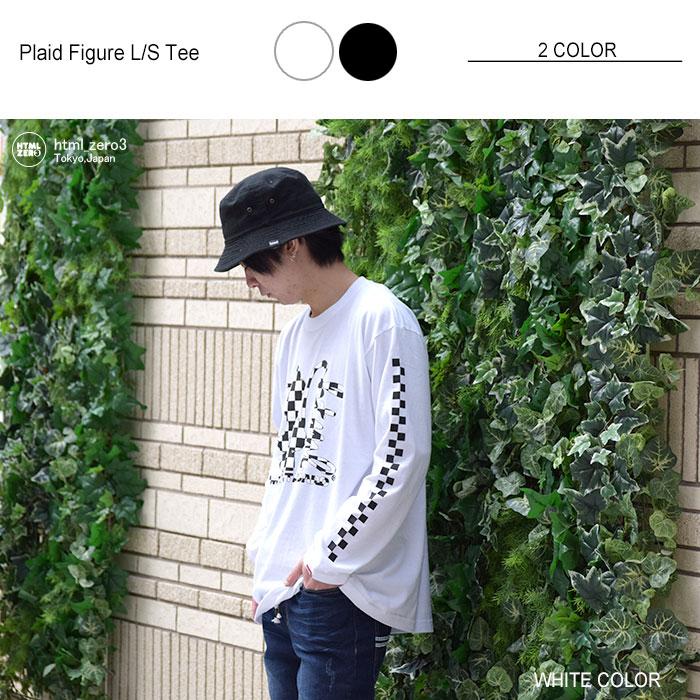 HTML ZERO3エイチティエムエル ゼロスリーのTシャツ Plaid Figure06