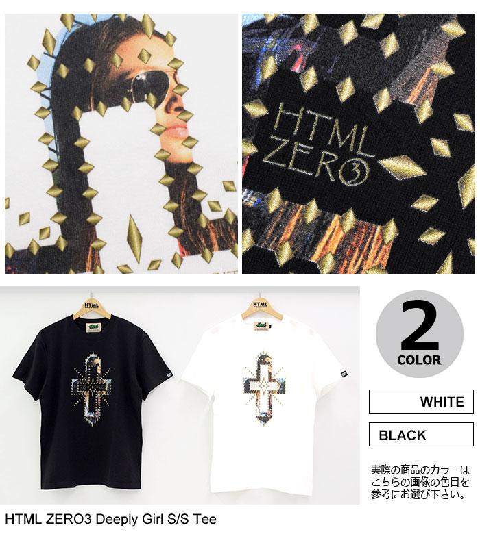 HTML ZERO3エイチティエムエル ゼロスリーのTシャツ Deeply Girl09
