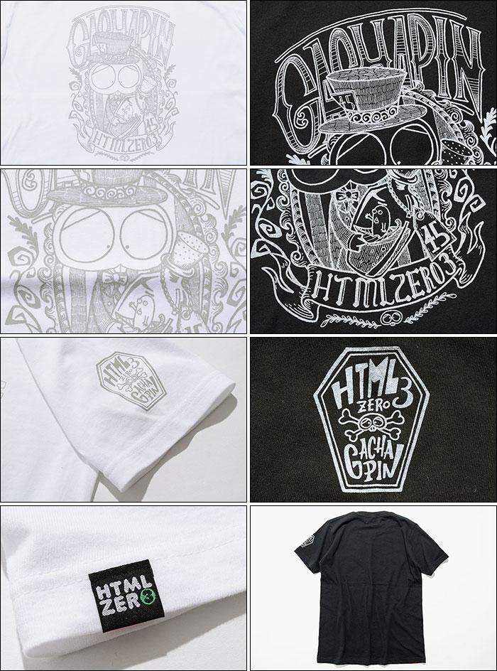 HTML ZERO3エイチティエムエル ゼロスリーのTシャツ HTML ZERO3×Gachapin G Style11