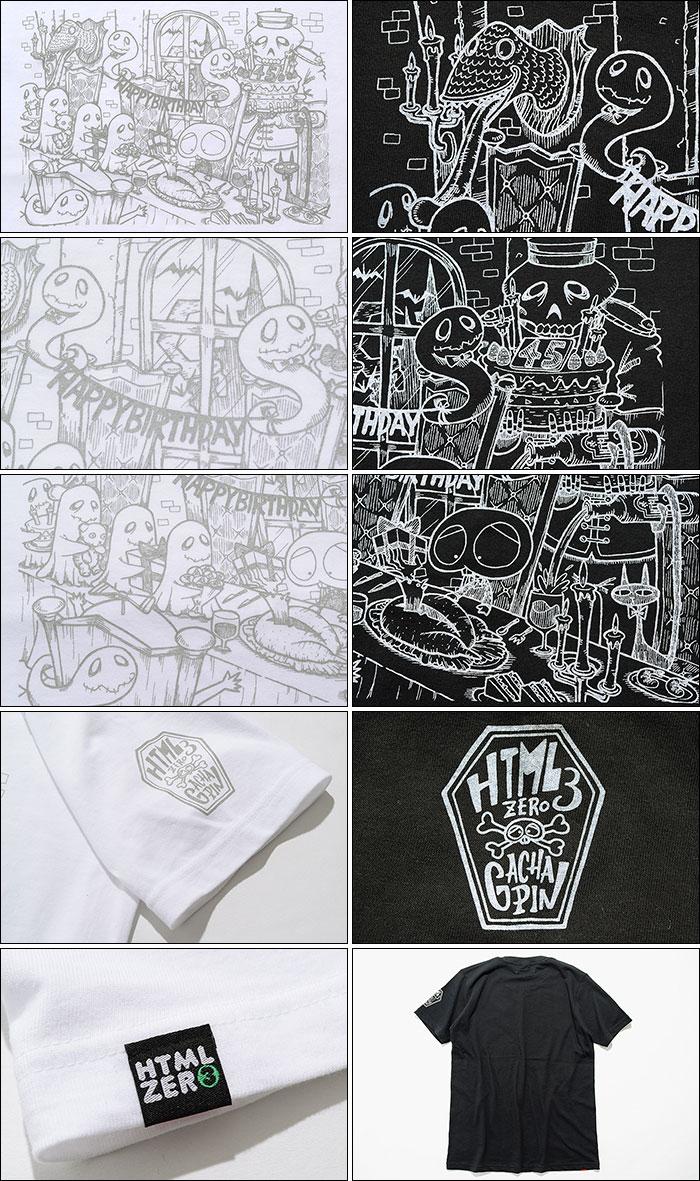 HTML ZERO3エイチティエムエル ゼロスリーのTシャツ HTML ZERO3×Gachapin Party10