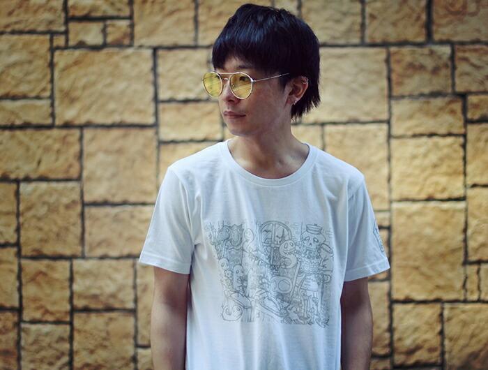 HTML ZERO3エイチティエムエル ゼロスリーのTシャツ HTML ZERO3×Gachapin Party03