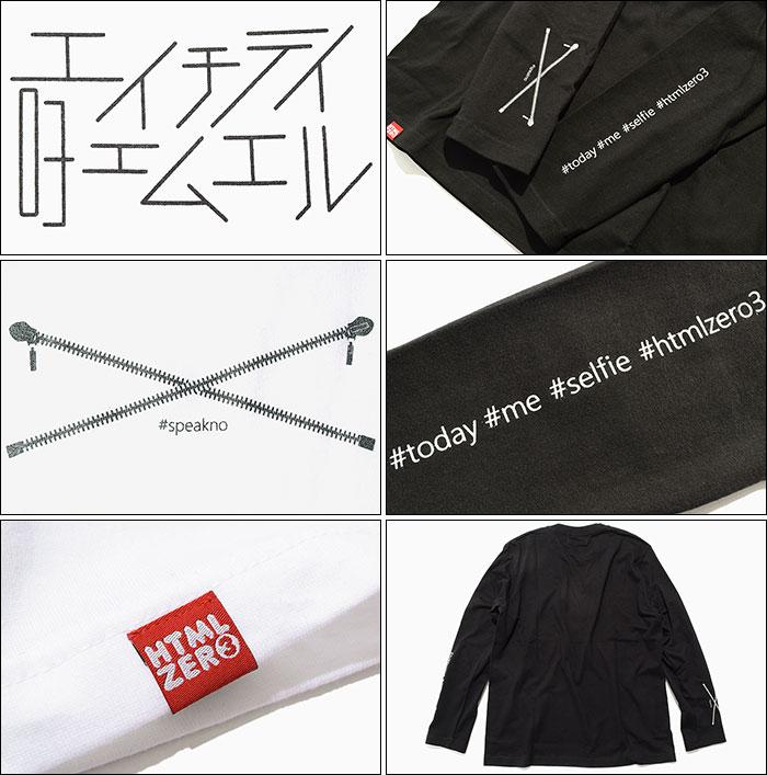 HTML ZERO3エイチティエムエル ゼロスリーのTシャツ Selfie Roll11