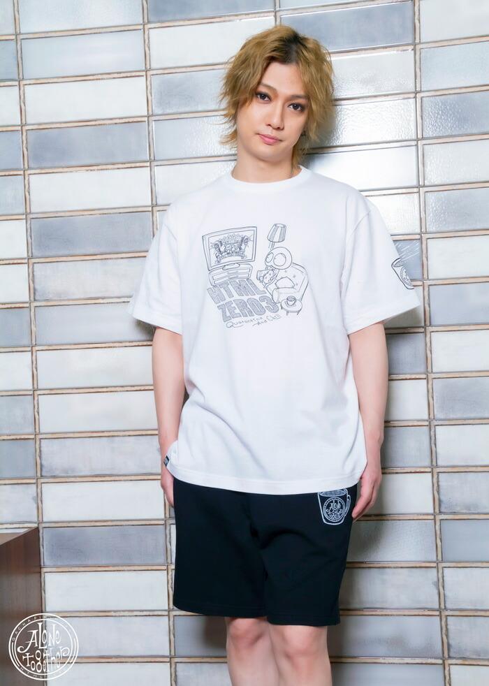 HTML ZERO3エイチティエムエル ゼロスリーのTシャツ HTML ZERO3×Gachapin11