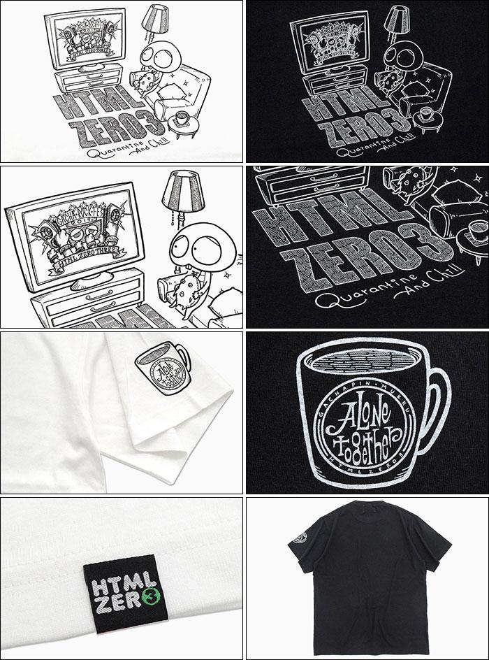 HTML ZERO3エイチティエムエル ゼロスリーのTシャツ HTML ZERO3×Gachapin14