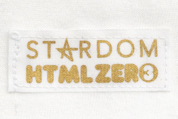 HTML ZERO3エイチティエムエル ゼロスリーのTシャツ HTML ZERO3×STARDOM12