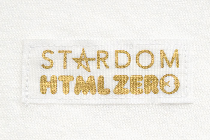 HTML ZERO3エイチティエムエル ゼロスリーのTシャツ HTML ZERO3×STARDOM14