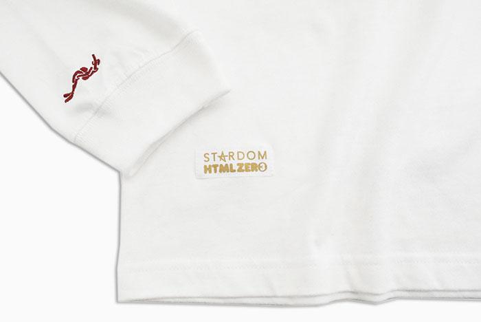 HTML ZERO3エイチティエムエル ゼロスリーのTシャツ HTML ZERO3×STARDOM15