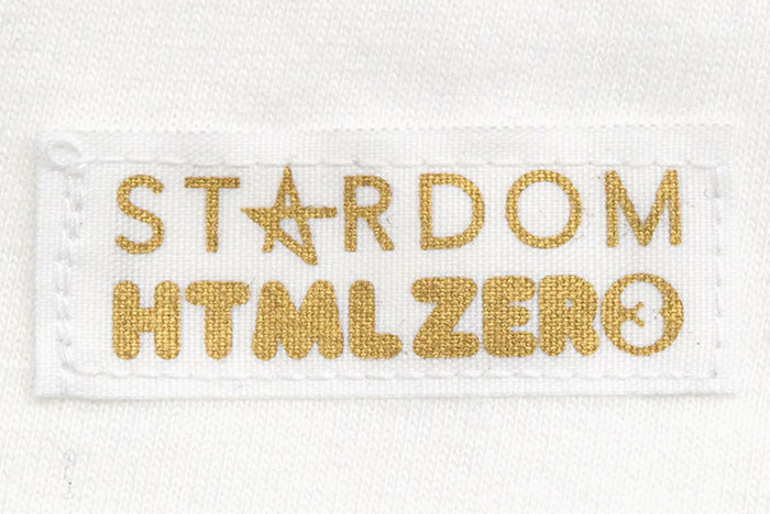 HTML ZERO3エイチティエムエル ゼロスリーのTシャツ HTML ZERO3×STARDOM16