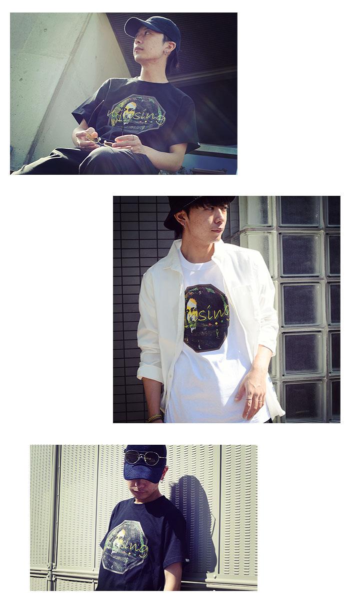 HTML ZERO3エイチティエムエル ゼロスリーのTシャツ Uprising07