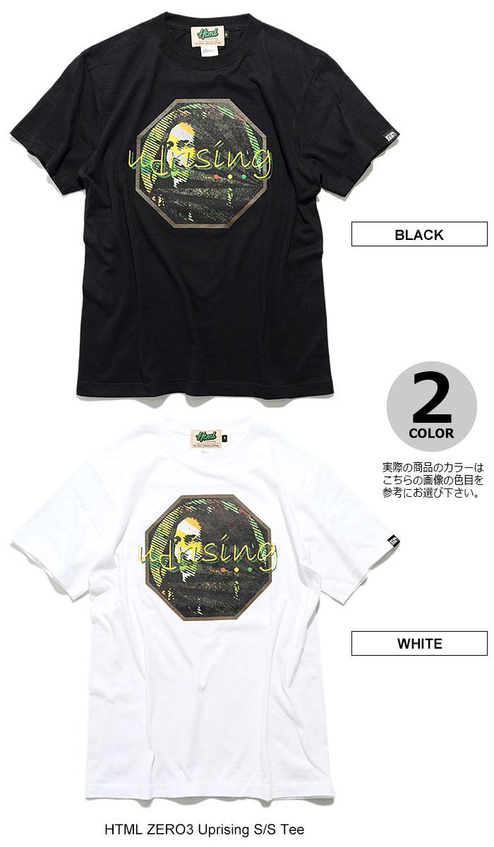 HTML ZERO3エイチティエムエル ゼロスリーのTシャツ Uprising09