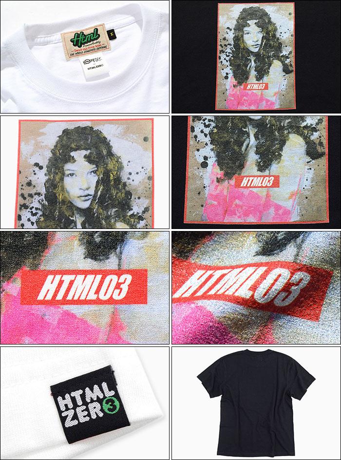 HTML ZERO3エイチティエムエル ゼロスリーのTシャツ Katherine Vogue12