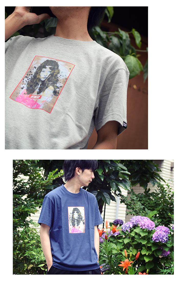 HTML ZERO3エイチティエムエル ゼロスリーのTシャツ Katherine Vogue06