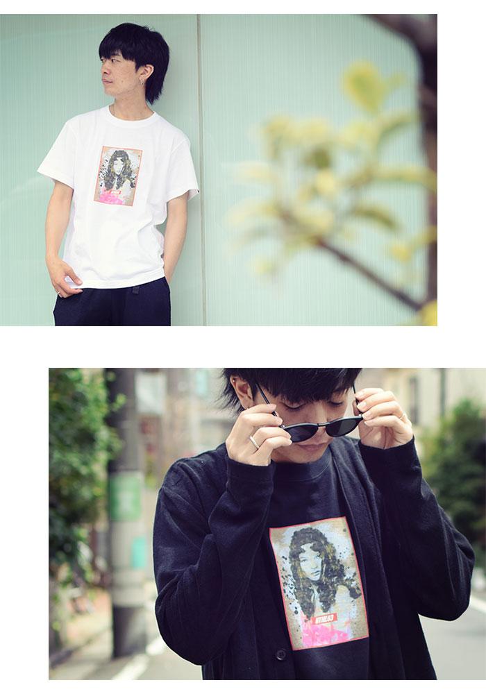 HTML ZERO3エイチティエムエル ゼロスリーのTシャツ Katherine Vogue09