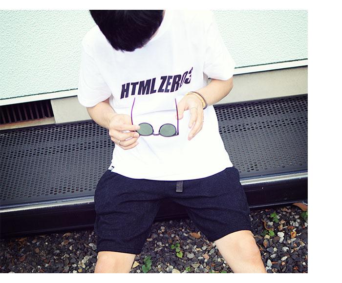 HTML ZERO3エイチティエムエル ゼロスリーのTシャツ Wendy Logo01