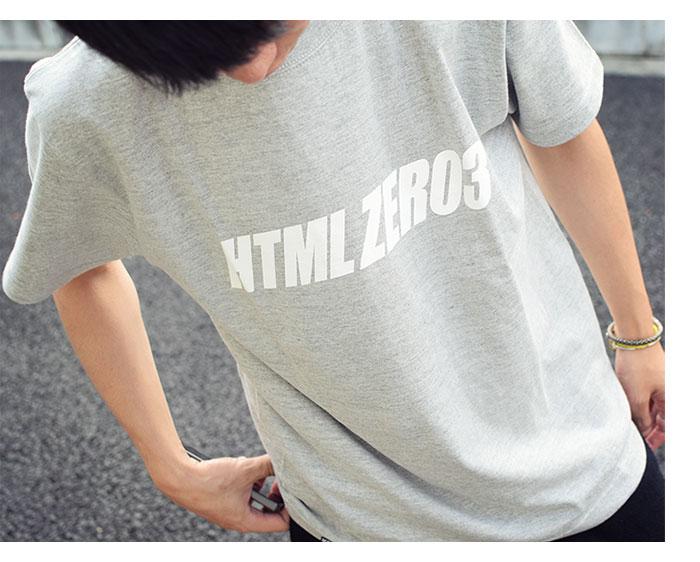 HTML ZERO3エイチティエムエル ゼロスリーのTシャツ Wendy Logo04