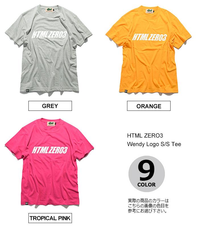 HTML ZERO3エイチティエムエル ゼロスリーのTシャツ Wendy Logo14