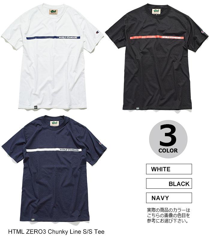 HTML ZERO3エイチティエムエル ゼロスリーのTシャツ Chunky Line10