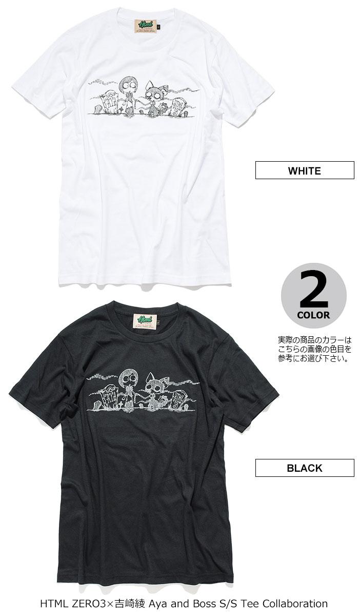 HTML ZERO3エイチティエムエル ゼロスリーのTシャツ 吉崎綾 Aya and Boss16
