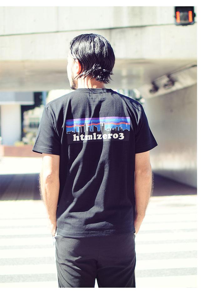 HTML ZERO3エイチティエムエル ゼロスリーのTシャツ Retro Snap01