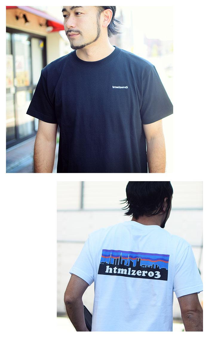 HTML ZERO3エイチティエムエル ゼロスリーのTシャツ Retro Snap05