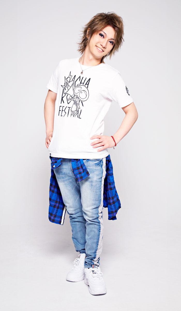 HTML ZERO3エイチティエムエル ゼロスリーのTシャツ HTML ZERO3×Gachapin Shout02