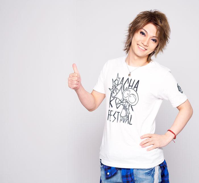 HTML ZERO3エイチティエムエル ゼロスリーのTシャツ HTML ZERO3×Gachapin Shout03