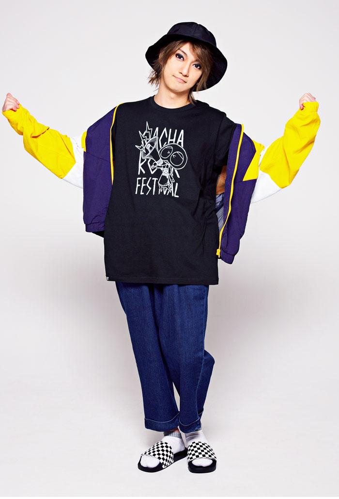 HTML ZERO3エイチティエムエル ゼロスリーのTシャツ HTML ZERO3×Gachapin Shout05