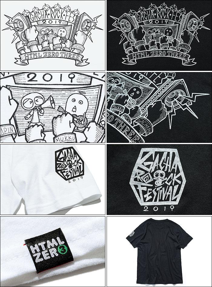 HTML ZERO3エイチティエムエル ゼロスリーのTシャツ HTML ZERO3×Gachapin Fanatic11