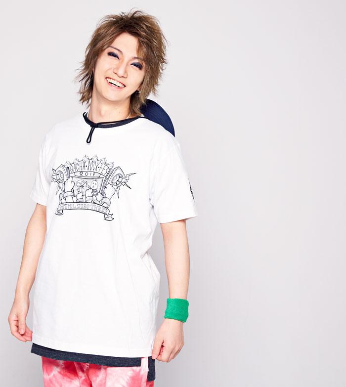 HTML ZERO3エイチティエムエル ゼロスリーのTシャツ HTML ZERO3×Gachapin Fanatic03