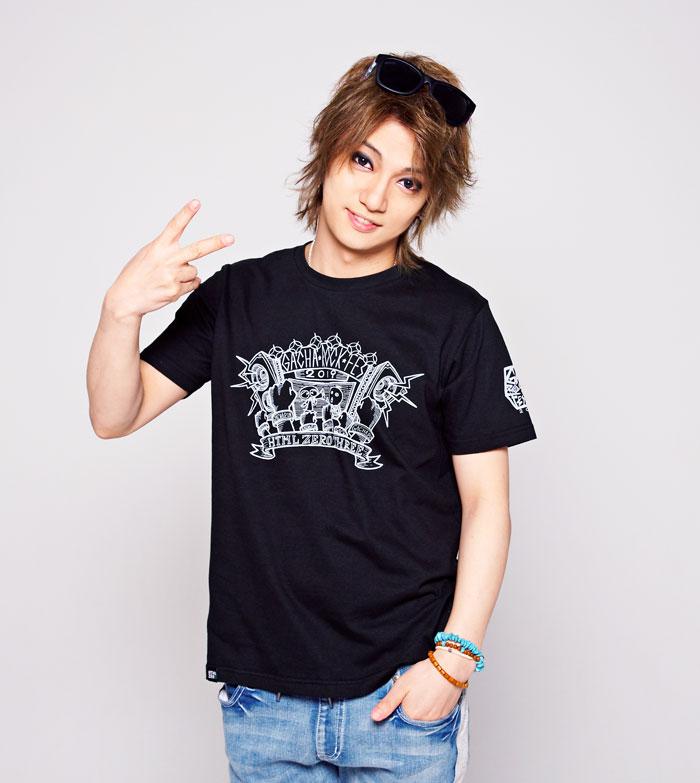 HTML ZERO3エイチティエムエル ゼロスリーのTシャツ HTML ZERO3×Gachapin Fanatic04