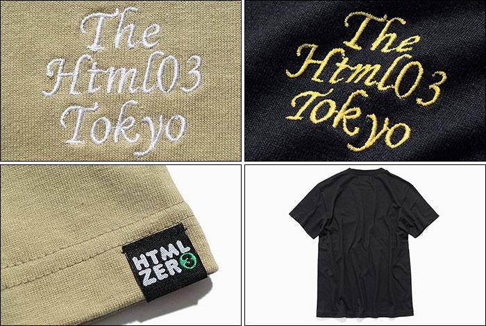HTML ZERO3エイチティエムエル ゼロスリーのTシャツ The Html03 12