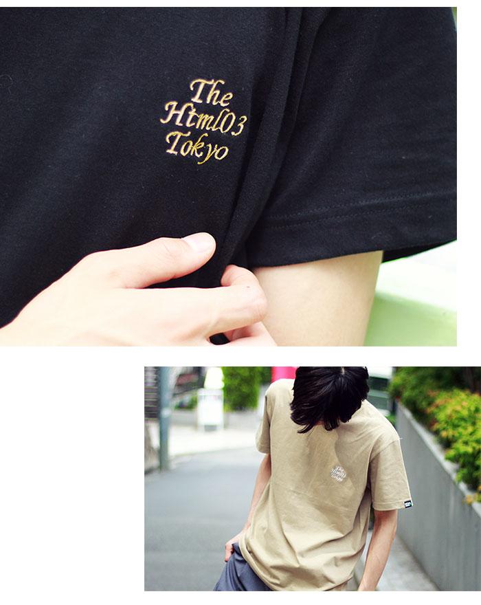 HTML ZERO3エイチティエムエル ゼロスリーのTシャツ The Html03 03