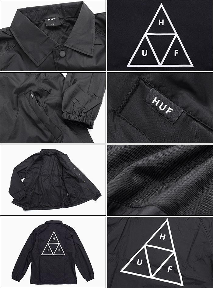 HUFハフのジャケット Essentials Triple Triangle Coaches04