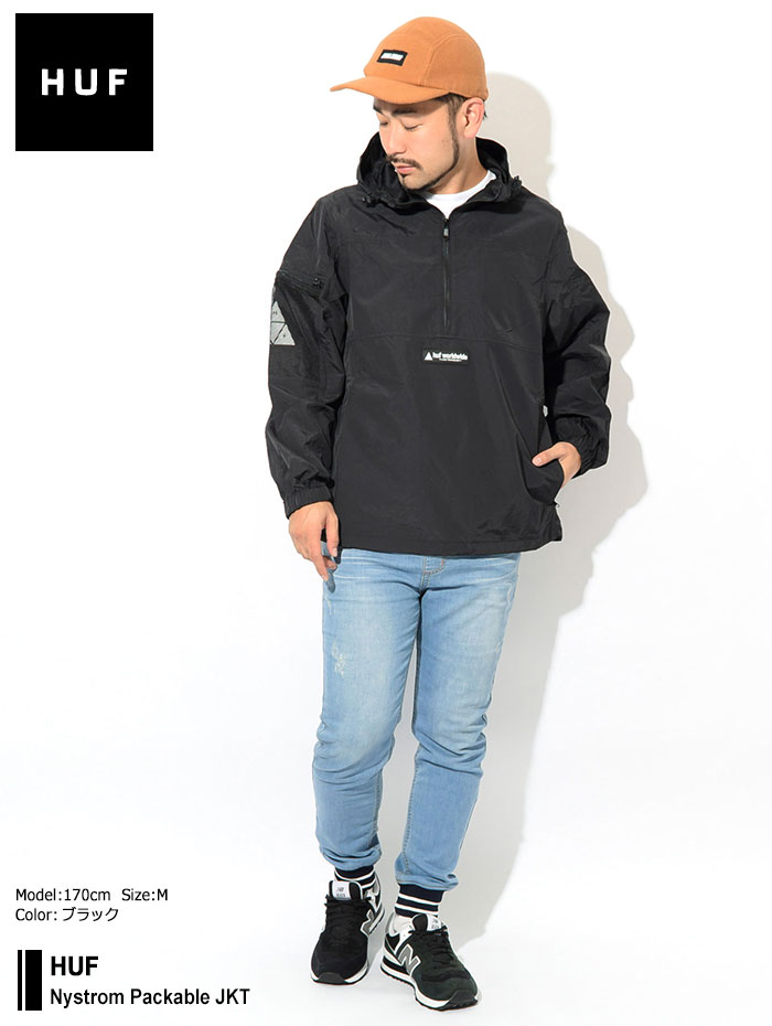 HUFハフのジャケット Nystrom Packable01