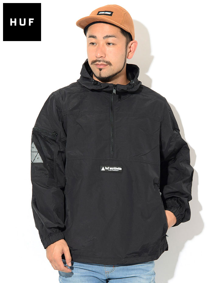 HUFハフのジャケット Nystrom Packable02