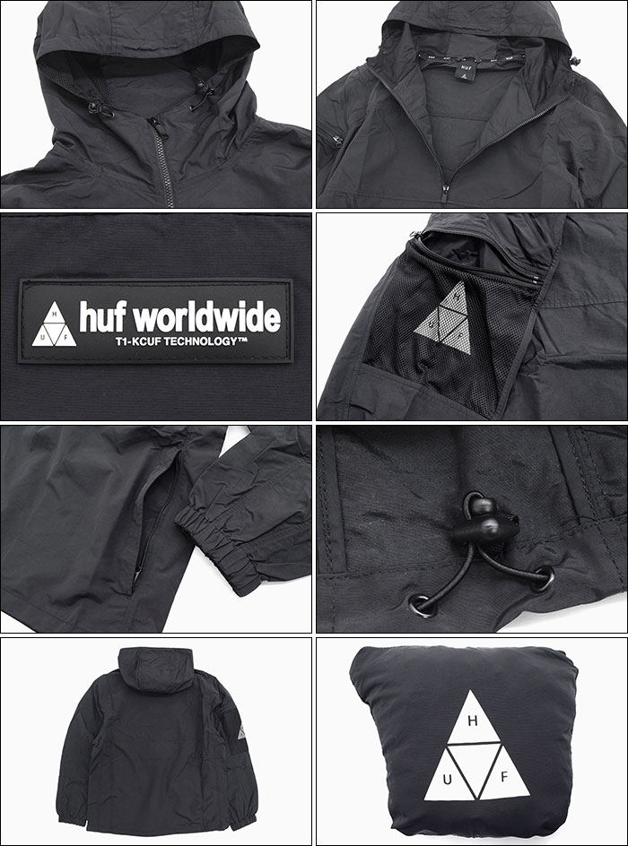HUFハフのジャケット Nystrom Packable05