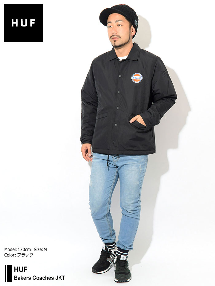 HUFハフのジャケット Bakers Coaches01