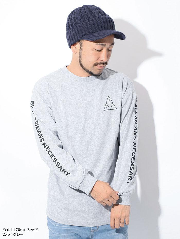 HUFハフのTシャツ Essentials Triple Triangle05