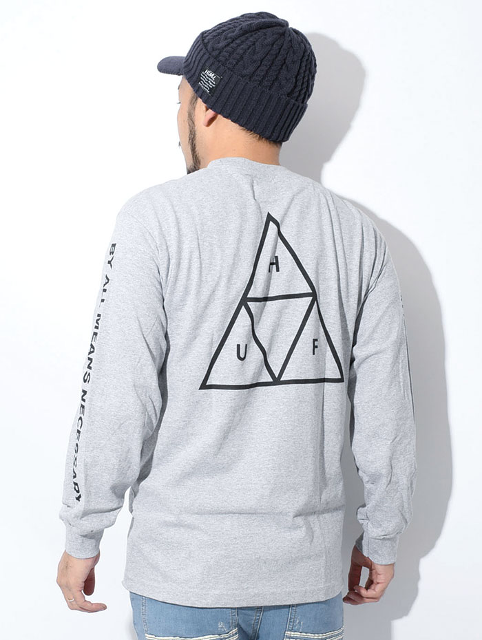 HUFハフのTシャツ Essentials Triple Triangle06