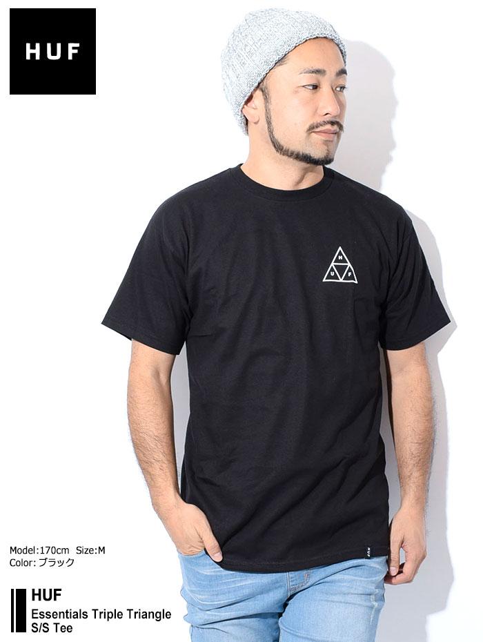 HUFハフのTシャツ Essentials Triple Triangle01