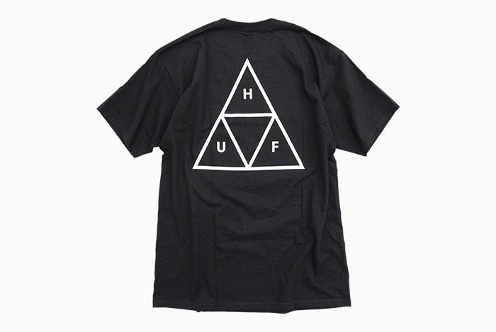 HUFハフのTシャツ Essentials Triple Triangle10