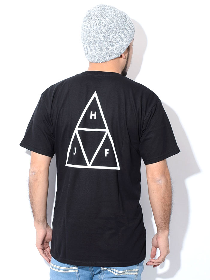 HUFハフのTシャツ Essentials Triple Triangle02