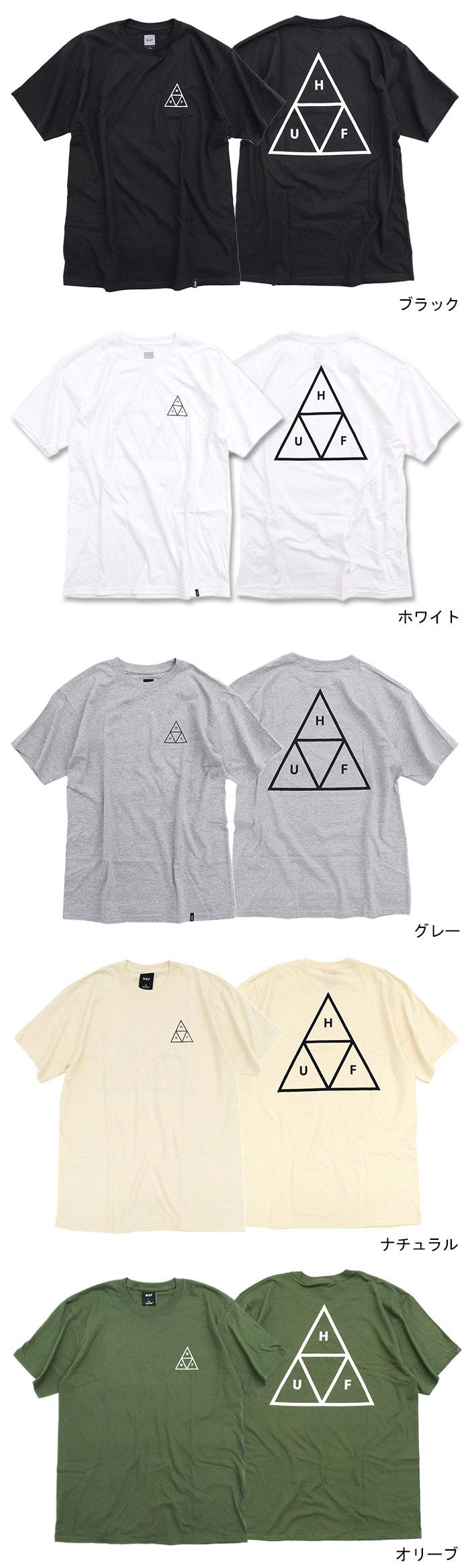 HUFハフのTシャツ Essentials Triple Triangle07