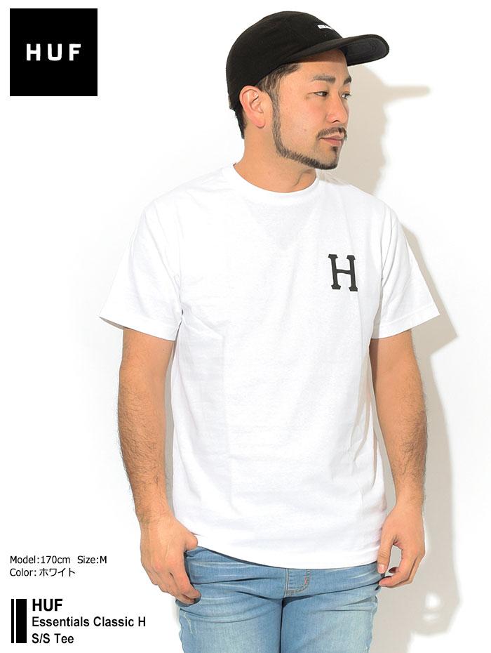 HUFハフのTシャツ Essentials Classic H01