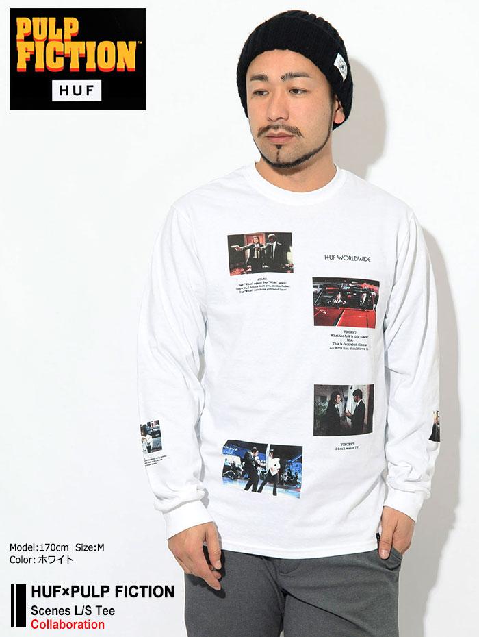 HUFハフのTシャツ PULP FICTION Scenes01