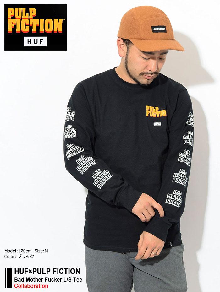 HUFハフのTシャツ PULP FICTION Bad Mother Fucker01
