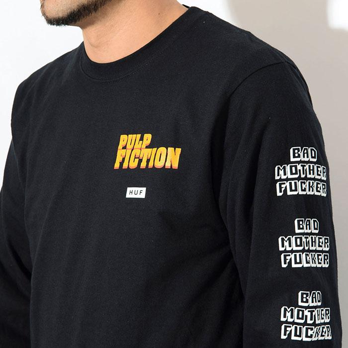 HUFハフのTシャツ PULP FICTION Bad Mother Fucker03